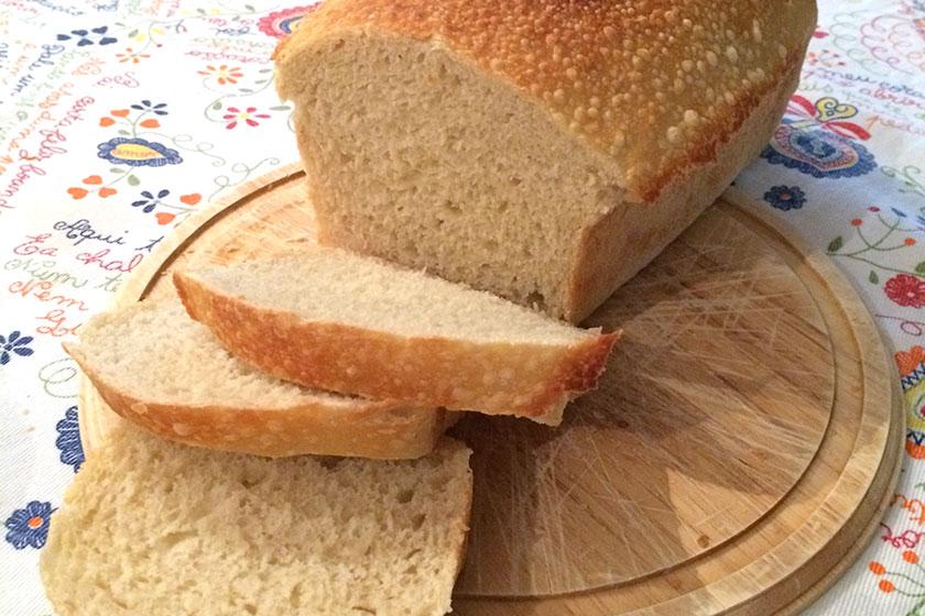 Foto de um pão caseiro