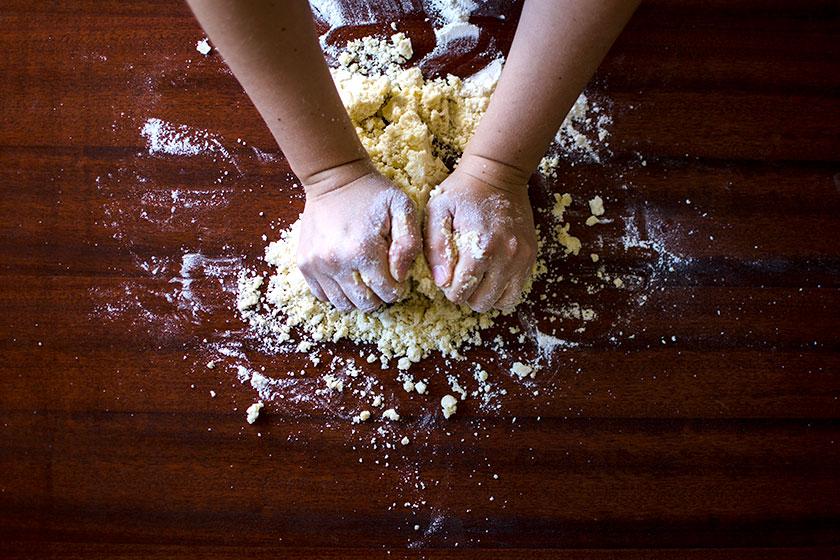 Sovar massa de pão