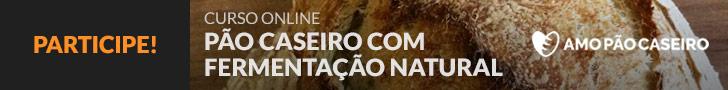 Curso Pão Caseiro com Fermentação Natural - Inscrições abertas!