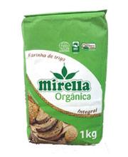 Farinha para pão: Mirella Orgânica Integral