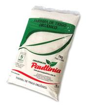 Farinha para pão: Paullinia Orgânica