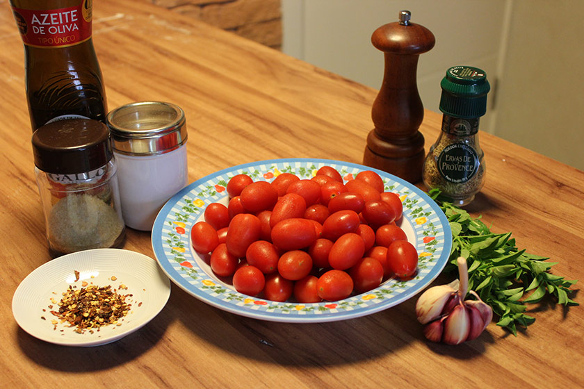 Tomate Confit: Ingredientes