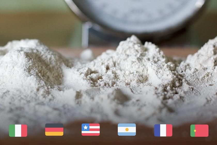 Entenda a classificação das farinhas italianas, francesas, alemãs e outras