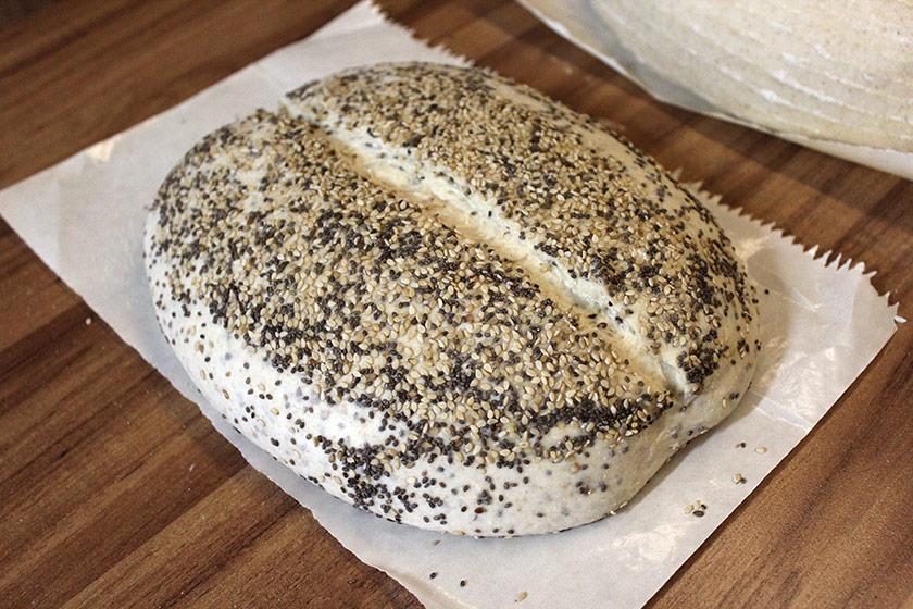 Pão Multigrãos - Incisões
