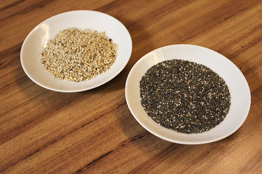 Pão Multigrãos - Mix de grãos (Gergelim e Chia)