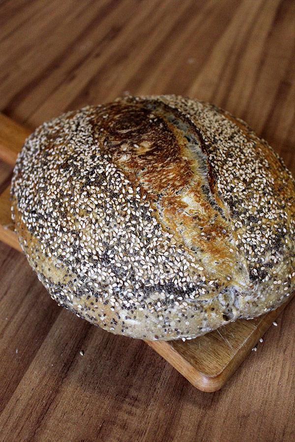 Receita de Pão Multigrãos