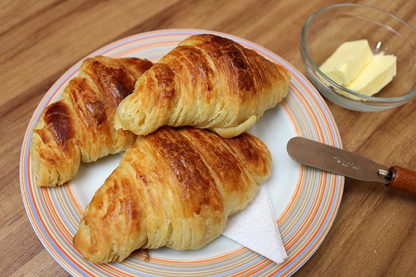 Croissant com Fermento Natural