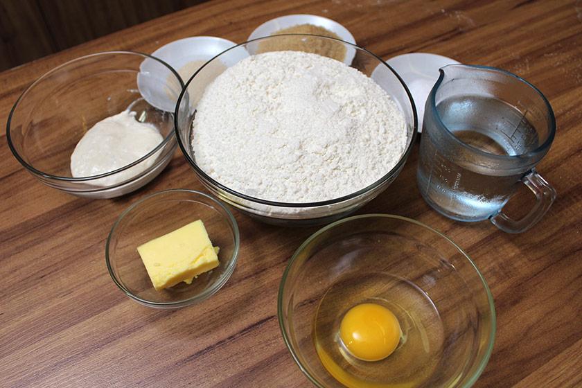 Receita de Croissant: Ingredientes