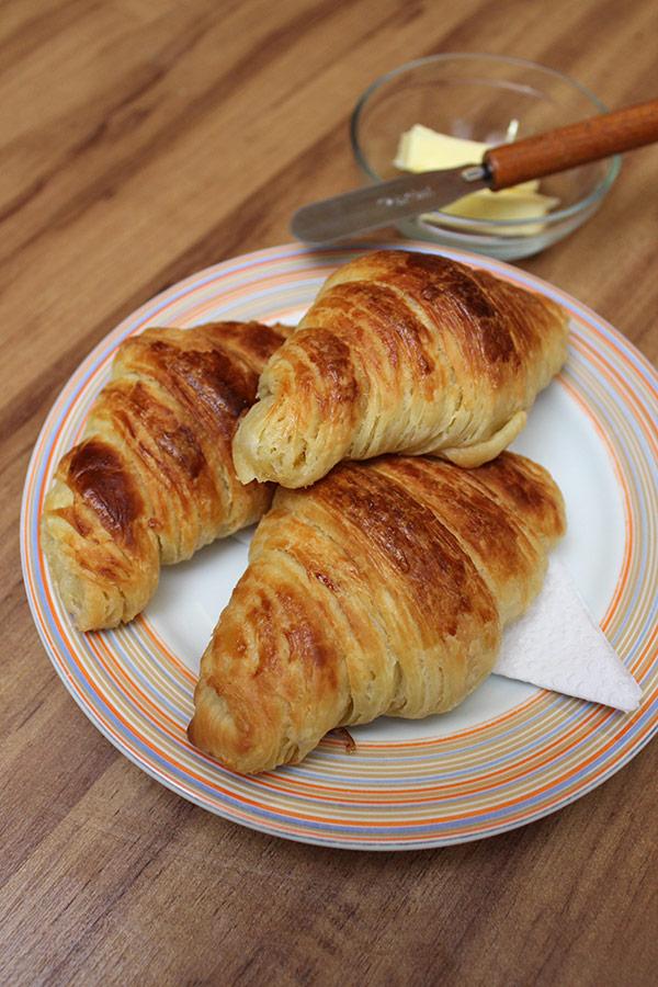 Receita de Croissant
