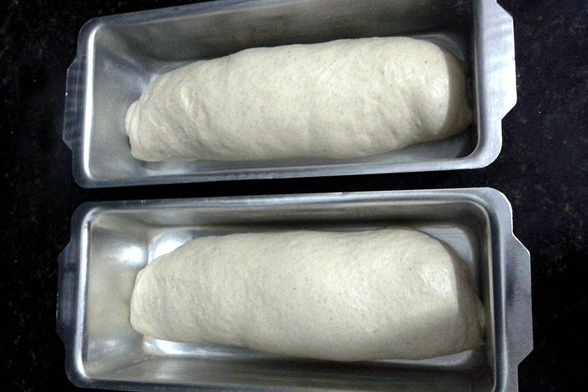 Pão de Forma Caseiro: Modelagem