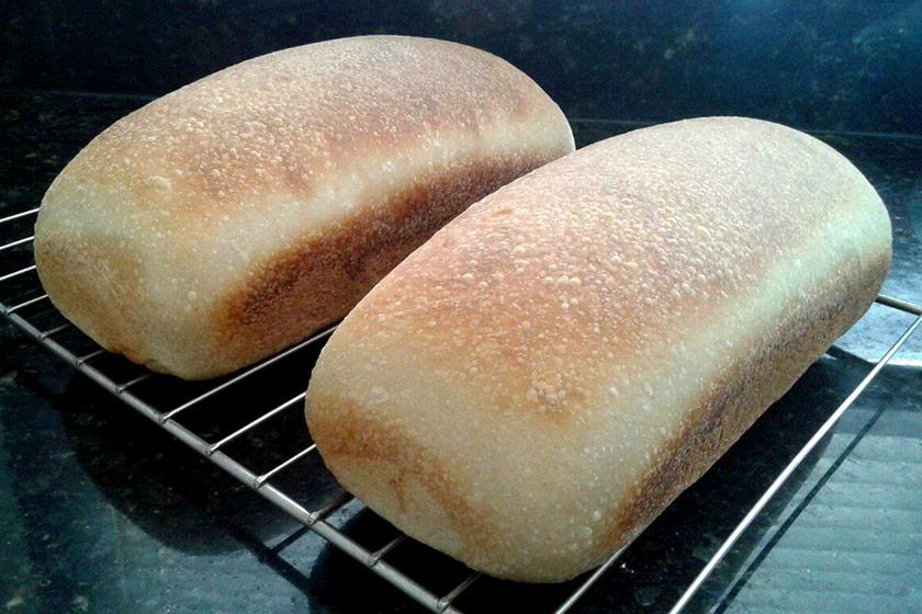 Pão de Forma Caseiro: Resfriamento