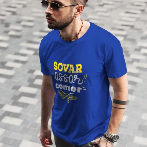 Camiseta Sovar, Assar e Comer (Masculina)