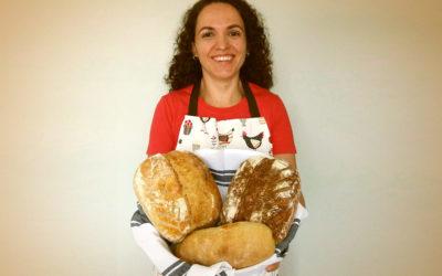 """""""No pão se coloca amor, dedicação e tempo, e esse tempo passa a ser uma terapia"""""""