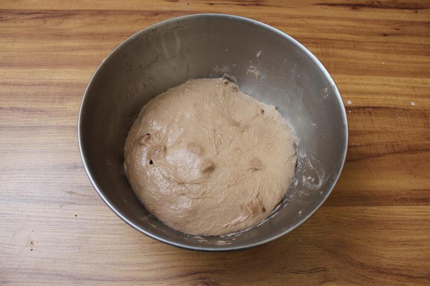 Pão de Cacau com Chocolate