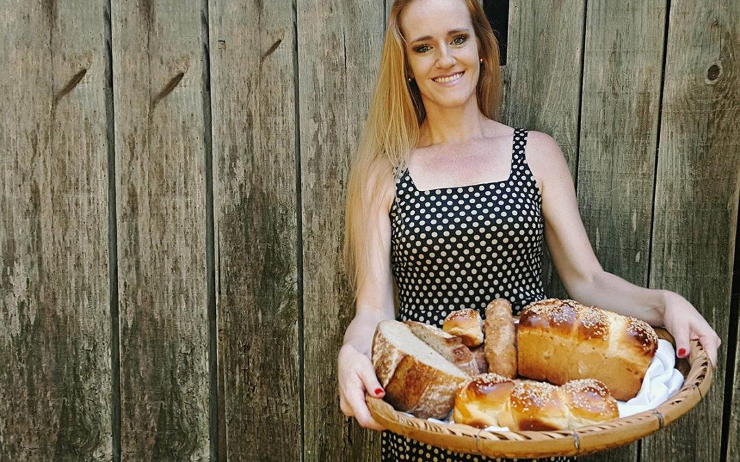 """""""Fazer pães é como uma terapia. Esqueço que existe um mundo fora da minha cozinha"""""""