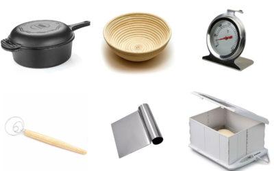 10 utensílios para fazer pão caseiro (e outros não tão essenciais, mas incríveis)