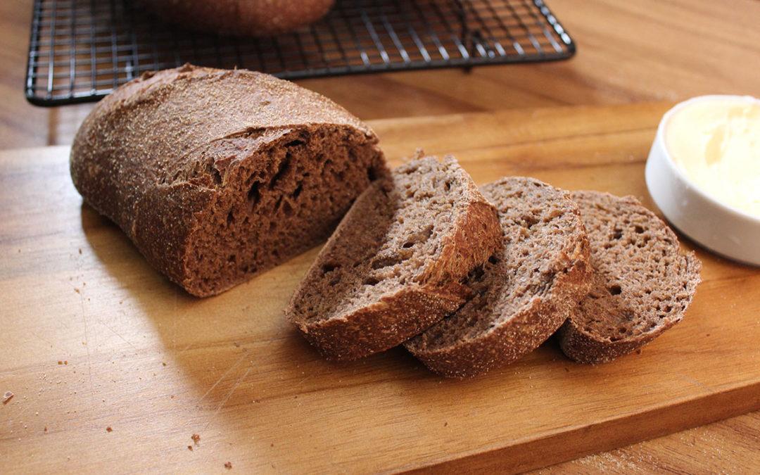 Pão Australiano com Fermentação Natural