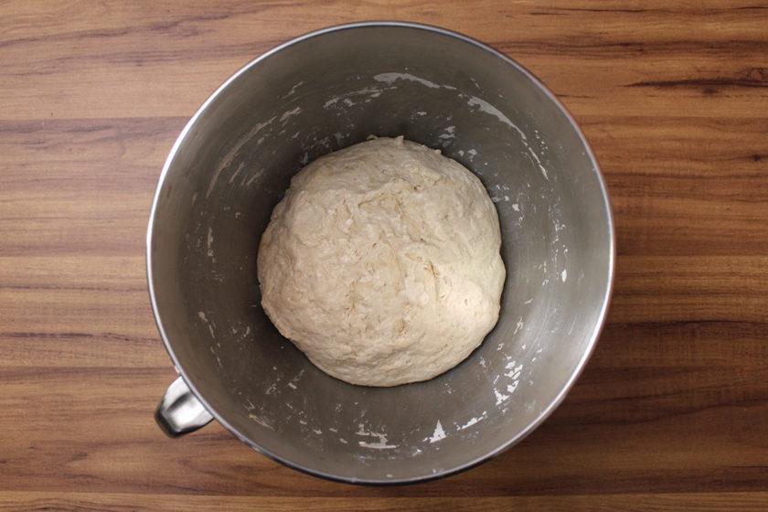 Receita de Pão de Pinhão: Autólise