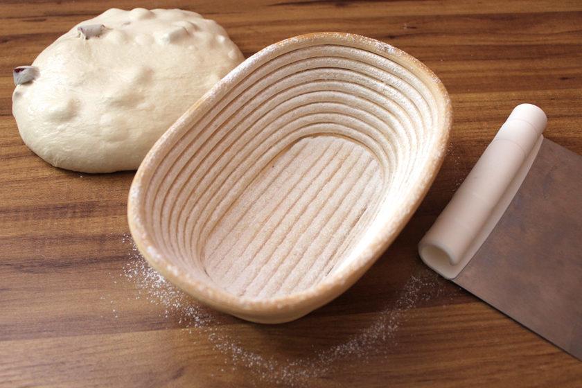Receita de Pão de Pinhão: Banneton