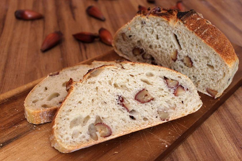 Receita de Pão de Pinhão: Fatias