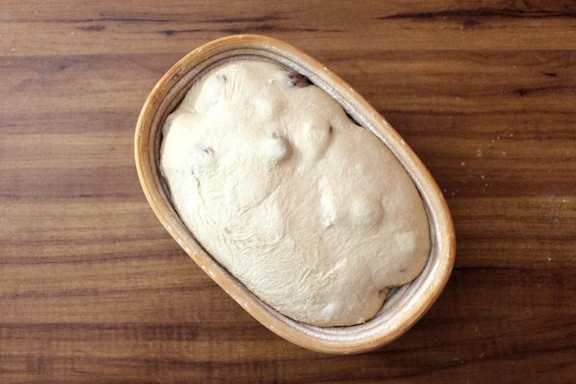 Receita de Pão de Pinhão: Depois da fermentação