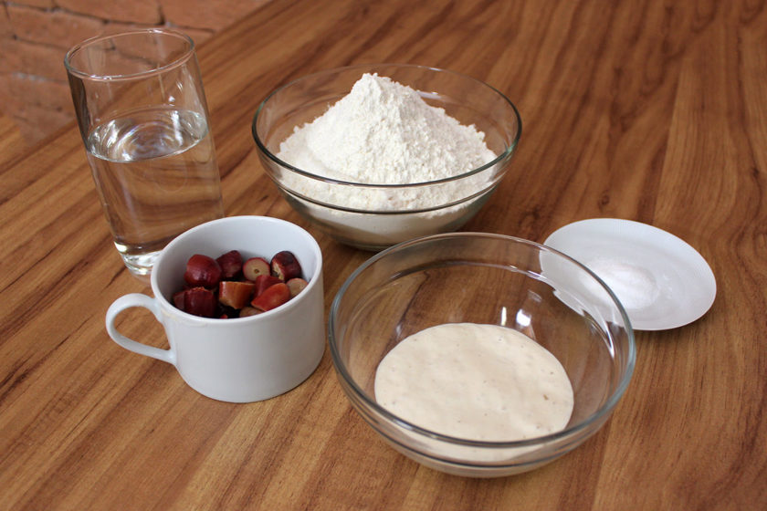 Receita de Pão de Pinhão: Ingredientes