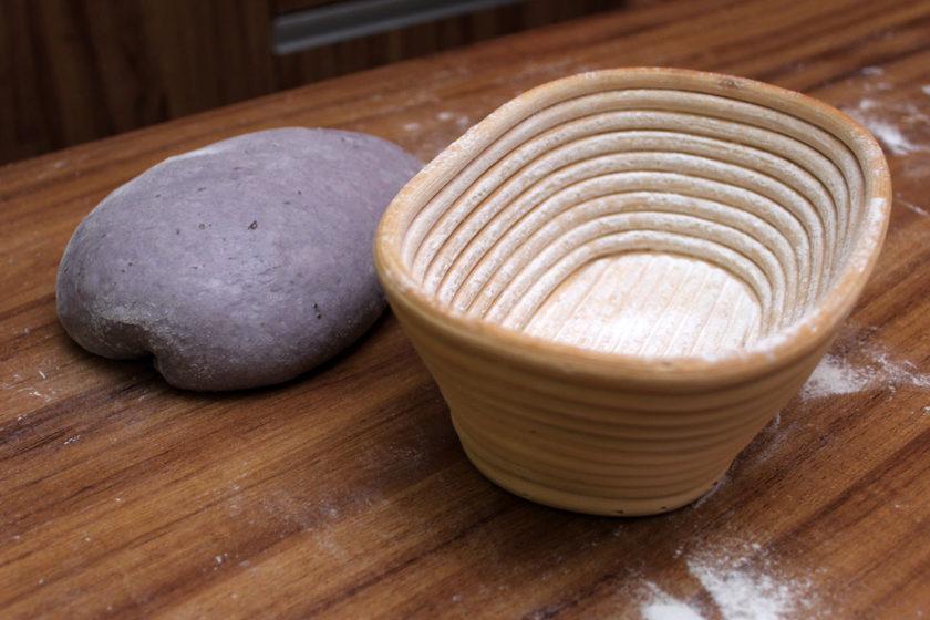 Pão de Batata-Doce Roxa - Banneton