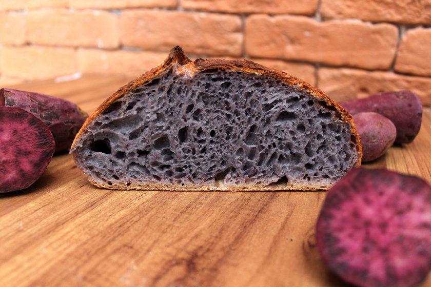 Pão de Batata-Doce Roxa - Cortado (Foto 3)