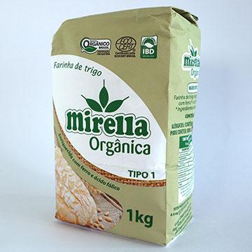 Farinha para pão: Mirella Orgânica