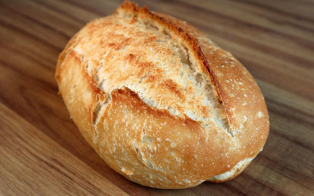 Receita de pão caseiro fácil para iniciantes