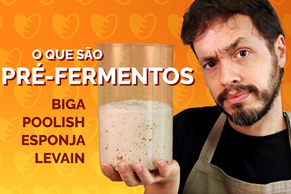 O que são pré-fermentos: Biga, Poolish, Esponja, Pâte Fermentée e Levain