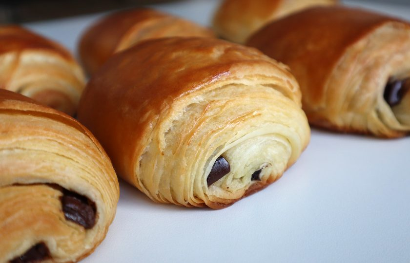 Receita de Croissant de Chocolate